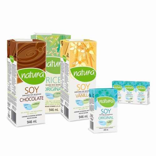加拿大品牌!精选 9款 Nutrisoya Foods 有机豆奶 2.67加元起特卖!