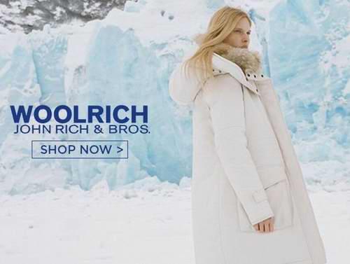 Woolrich John Rich & Bros 精选男女时尚羽绒服、围巾、帽子、夏季服饰等3.5折起!