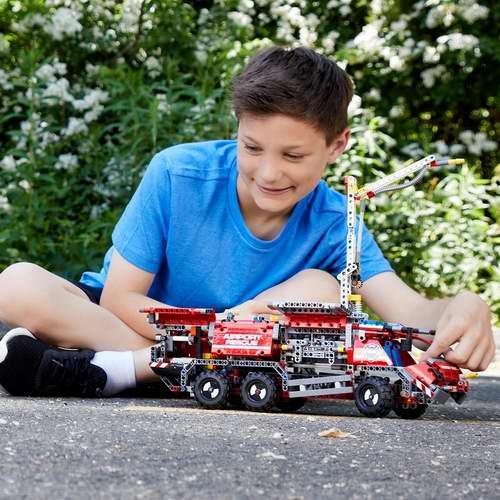 LEGO 乐高 42068机械系列  消防救援车 7.7折 99.99加元,原价 129.99加元,包邮