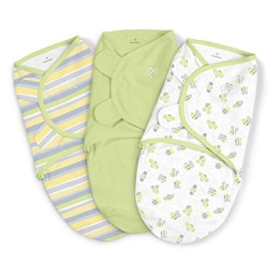 Summer Infant SwaddleMe 超柔软纯棉婴儿襁褓毯 3件套 19.99加元,原价 39.99加元