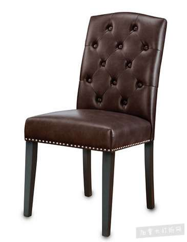 HOME STUDIO Naples 时尚人造皮革软垫餐椅3.4折 84.97加元清仓!