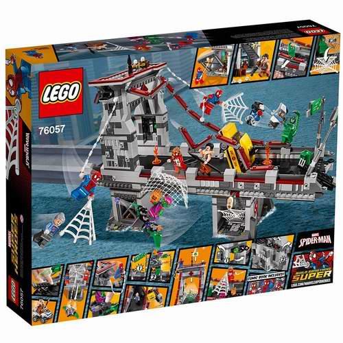 超级英雄迷们福音!LEGO 乐高 76057 超级英雄 蜘蛛侠终极大桥之战 6.9折 89.99加元,原价 129.99加元,包邮