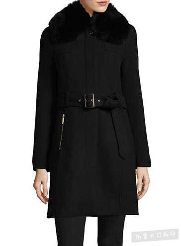 精选 6款 MICHAEL KORS 女款羊毛大衣、羽绒服5折起,额外销售8.5-9折优惠!