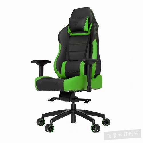 坐得越舒服,玩得更惬意!Vertagear P-Line PL6000 赛车系列 软垫座椅靠背 办公椅/游戏椅 428.38加元,原价 604加元,包邮
