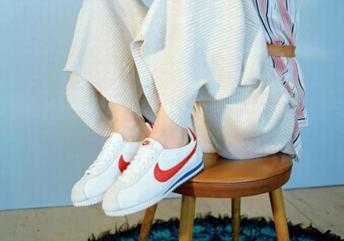 Nike Classic Cortez 女款阿甘跑鞋 55.49加元,原价 105加元