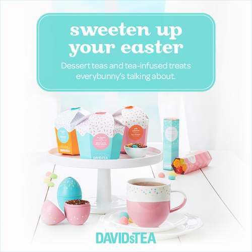 新年大优惠 !Davids Tea 美味暖茶 4折+额外8折!