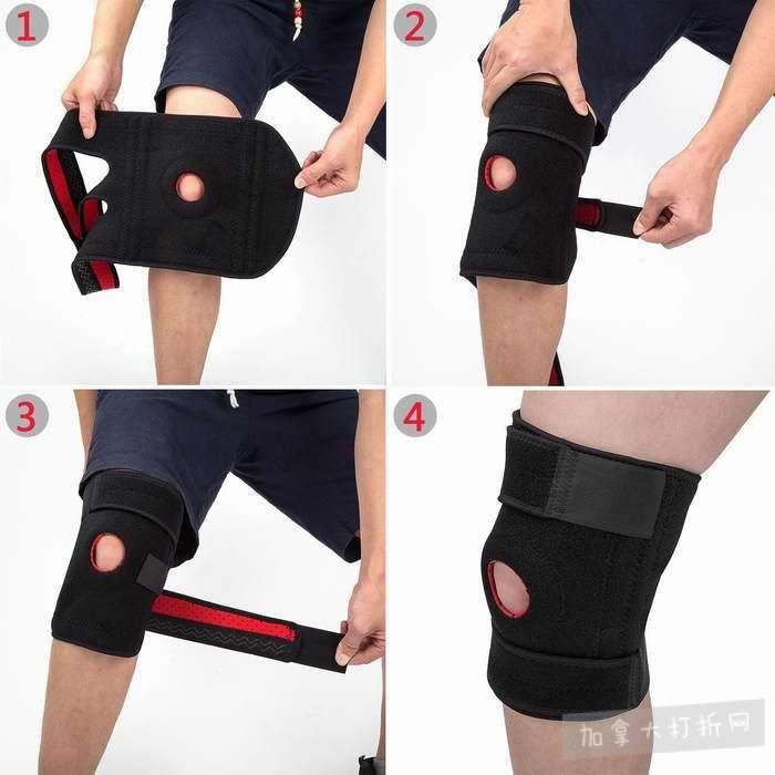 Arespark 超柔软透气护膝支撑 15.29加元限量特卖,原价 18.49加元