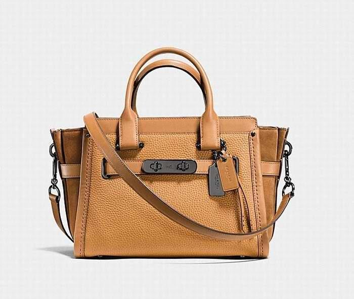 Coach Swagger 27 爆款手袋 265加元(2色),原价 530加元,包邮