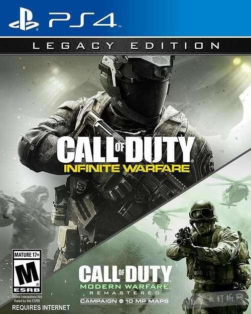 PS游戏《使命召唤:无限战争》39.99加元,原价 69.99加元,包邮