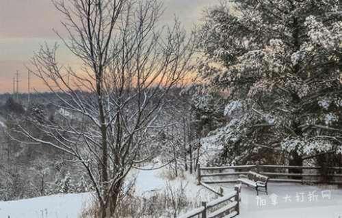 冬日跟志愿者徒步探索美丽的红河谷公园!