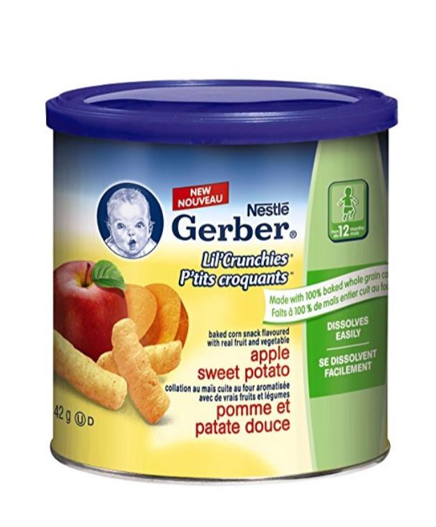 美国著名婴幼儿营养食品品牌!精选 44款 Gerber 嘉宝婴儿米粉 、果泥、蔬果泥 2.77加元起特卖!