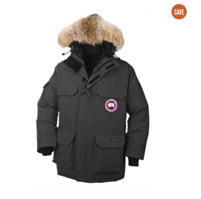 Canada Goose Expedition 男士毛领羽绒服 795.98加元(XL码),原价 994.99加元,包邮