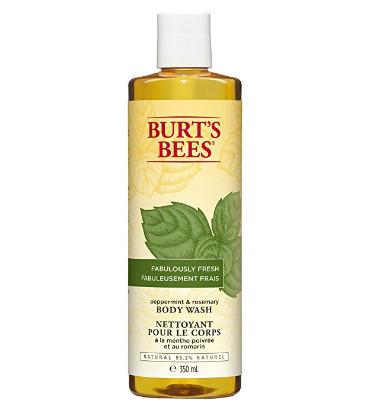 Burt's Bees 小蜜蜂 薄荷迷迭香沐浴露 3.79加元(350ml),原价 9.99加元