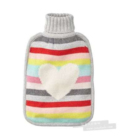 Indigo精选两款爱心图案暖水袋 22.12加元,原价 29.5加元,包邮