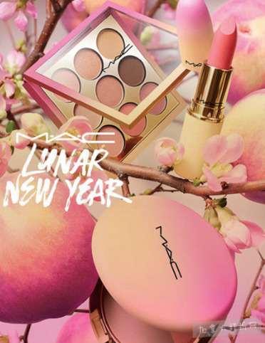 桃花朵朵开,好运连连来!M.A.C 2018新春限定蜜桃系列唇膏、眼影、腮红开卖了!