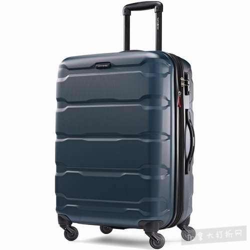 Samsonite Omni PC 24英寸轻质硬壳拉杆行李箱/登机箱 139.26加元,原价 286.27加元,包邮