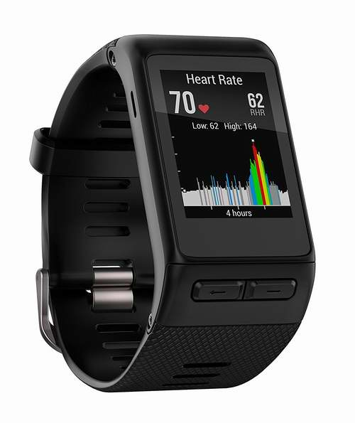 金盒头条:Garmin Vivoactive HR GPS智能运动手表 164.99加元,原价 249.99加元,包邮