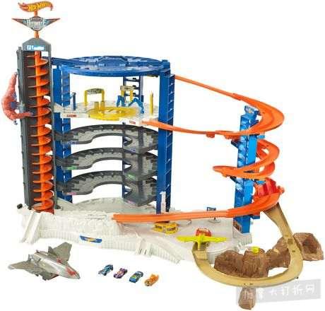 Hot Wheels 超级终极车库玩具套装 108加元清仓特卖,原价 219.97加元,包邮