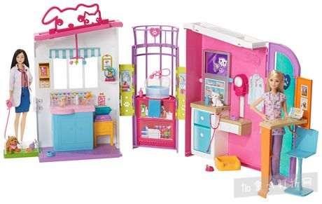 Barbie芭比宠物护理中心 25.99加元清仓特卖,原价 64.97加元