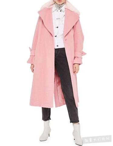 精选 TOPSHOP 女款外套,大衣 20加元起特卖!