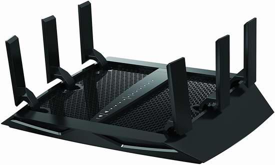 Netgear 网件 Nighthawk 夜鹰 X6 AC3000 无线智能路由器6折 170.71加元包邮!