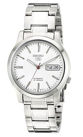 历史新低!Seiko 精工5号 SNK789 男士自动机械腕表/手表3.4折 63.99加元包邮!
