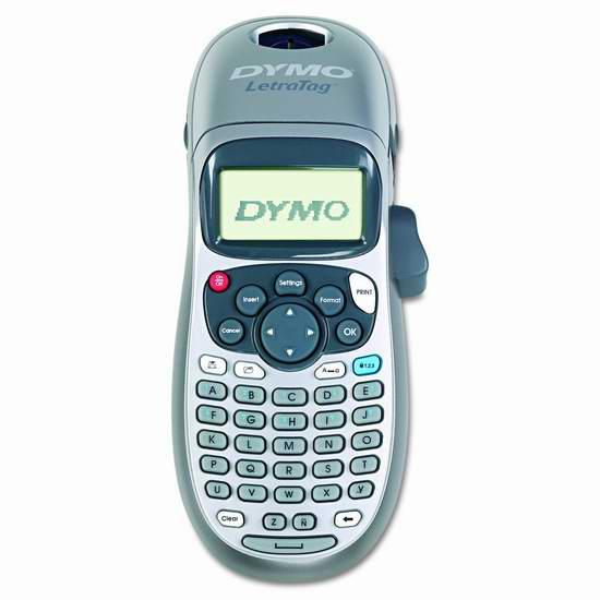 白菜!历史新低!DYMO 达美 LetraTag LT-100H 手持式标签打印机3.3折 12.85加元!