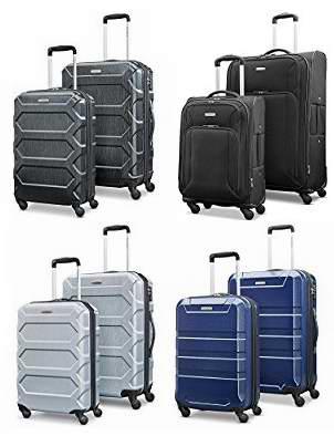 全部都变白菜价!精选多款 Samsonite 新秀丽 硬壳/软壳 轻质拉杆行李箱2件套 134.56加元起包邮!