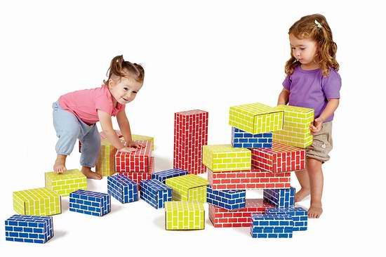 白菜价!EDUSHAPE EDU-709036 幼儿巨型积木36件套1.9折 17.25加元清仓!