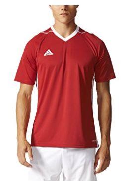 白菜!Adidas Tiro17 男款运动短袖T恤1.7折 8.34加元起!多色可选!