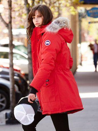 速抢!Canada Goose 男女时尚毛领羽绒服5.7折起清仓!售价低至174.88加元!