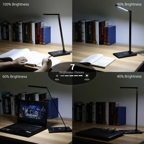 历史新低!Lighting EVER LE 6W 可调亮度LED护眼台灯2.5折 13.99加元清仓!