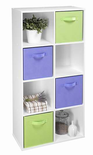 历史新低!ClosetMaid 420 8格 立卧两用 白色收纳柜3.4折 44.97加元包邮!