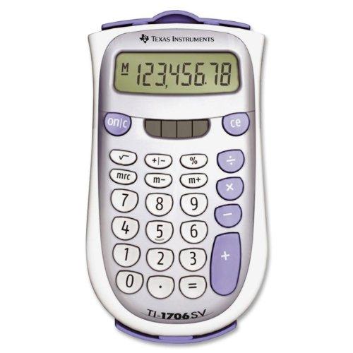 历史新低!Texas Intruments TI-1706SV 便携式太阳能 口袋计算器2.8折 5.95加元清仓!