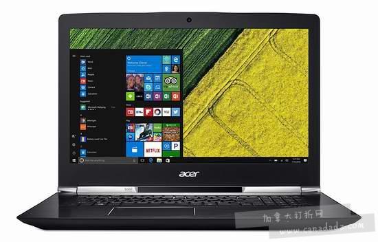 金盒头条:历史新低!Acer 宏碁 Acer Aspire V 17 Nitro 17.3英寸游戏笔记本电脑(16GB/512GB SSD + 1TB)6.9折 1519.99加元包邮!