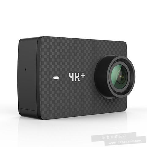 历史新低!小米 YI 小蚁 4K+ 运动相机3.7折 185.21加元包邮!