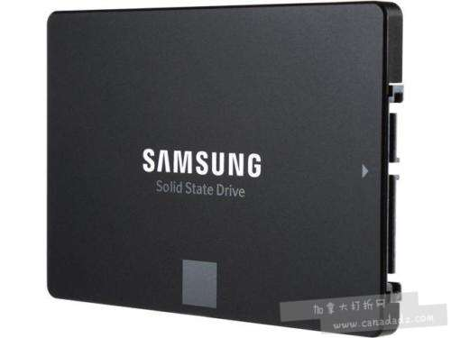 Samsung 850 EVO系列 2.5英寸 SATA III  500GB大容量固态硬盘6.2折 149.99加元包邮!