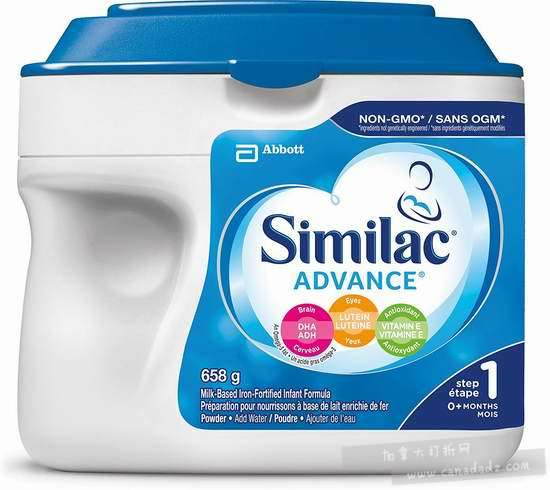 Similac 雅培 advance step 1 非转基因 婴儿奶粉 27.53加元!