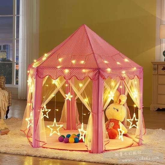 UTH TENT 粉红公主帐篷 41.04加元限量特卖并包邮!