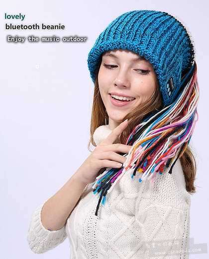 历史新低!CoCo fashion 男女时尚 蓝牙音乐豆豆帽6.2折 17.99加元!共3款8色可选!