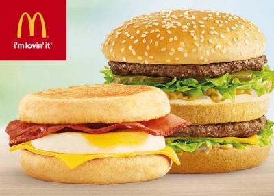 又来了!McDonald's 麦当劳 购买巨无霸 或 麦满分三明治 或 麦咖啡仅需1元!手机App用户专享!