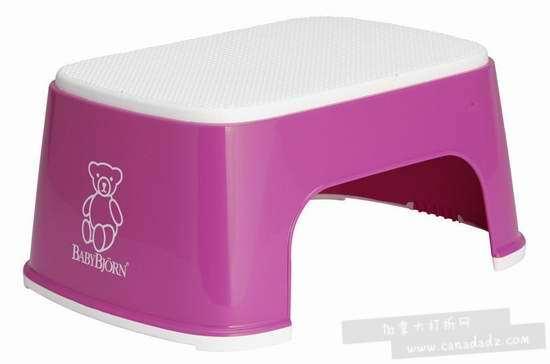 历史最低价!BabyBjorn Safe Step 儿童防滑安全凳3.7折 9.99加元!粉红/绿色可选!