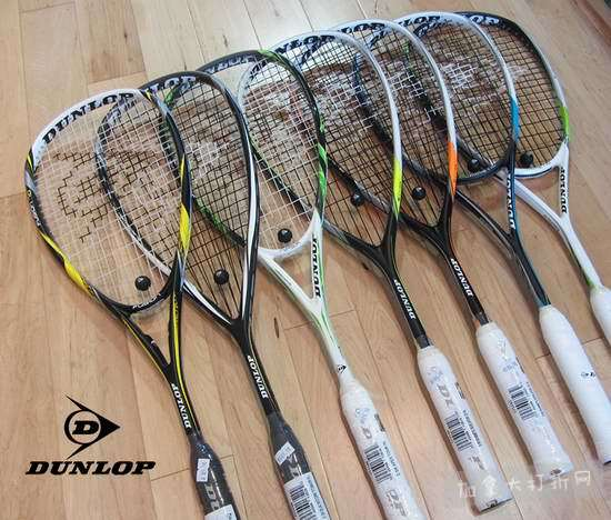 精选4款 Dunlop、Yonex 网球拍、羽毛球拍全部5折!买第2支额外再打5折!