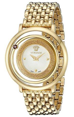 Versace VQV080015 Venus 女士镀金时尚腕表/手表3.6折 706.99加元包邮!