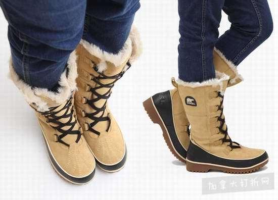 Sorel 冰熊 Tivoli High II 女式高筒 真皮羊毛 雪地靴6折 119.99加元包邮!两色可选!