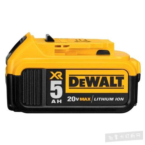 历史新低!DEWALT 得伟 DCB205 20V MAX 5.0Ah 高级XR锂电池4.1折 69.99加元包邮!