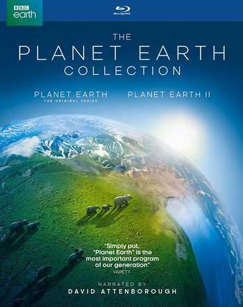 历史新低!BBC《Planet Earth 行星地球》+《行星地球2》超值装 DVD版 22.99加元!蓝光影碟版 32.99加元!