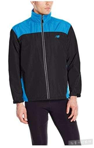 New Balance 男士便携式 防风防水连帽夹克5.7折 35.99加元包邮!5色可选!码齐全降价!
