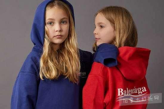 收爆款Logo卫衣!时尚从宝宝抓起,Balenciaga 巴黎世家童装6.1折 153加元起!全球包邮!