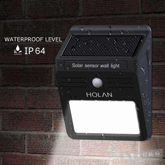 历史新低!Holan 12 LED 太阳能防水运动感应灯 6.99加元!